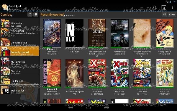 Comicrack-Android-Comic-App
