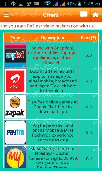 Earn-talktime-Android-Entertainment-app
