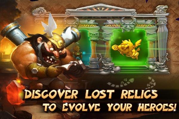 Gods Rush - Android Strategic Game