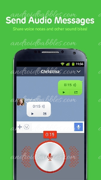 Line-Calls-and-messages-app
