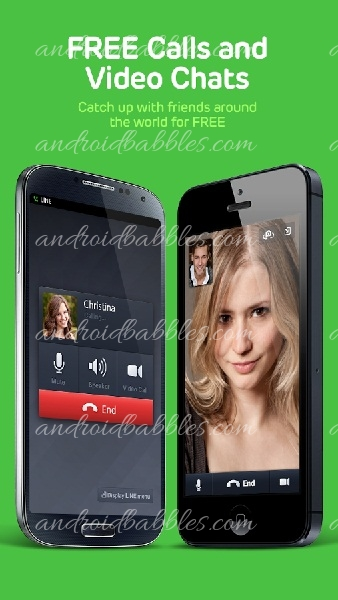 Line-Free-Call-Messenger