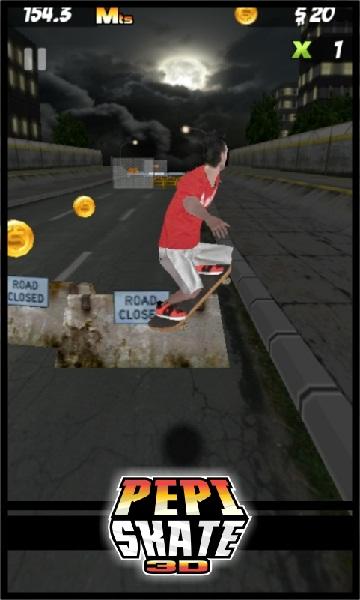 Free-download-PEPI Skate 3D-online