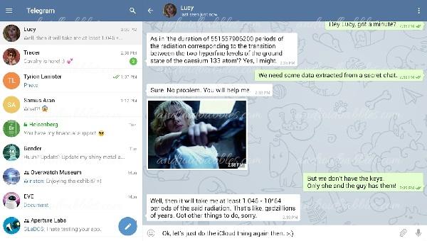 Telegram-Messenger-Android-Communication-App