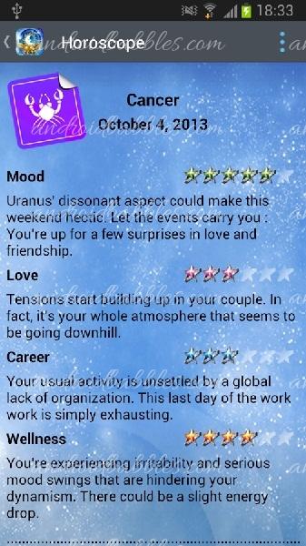 Horoscope-Free-Android-app