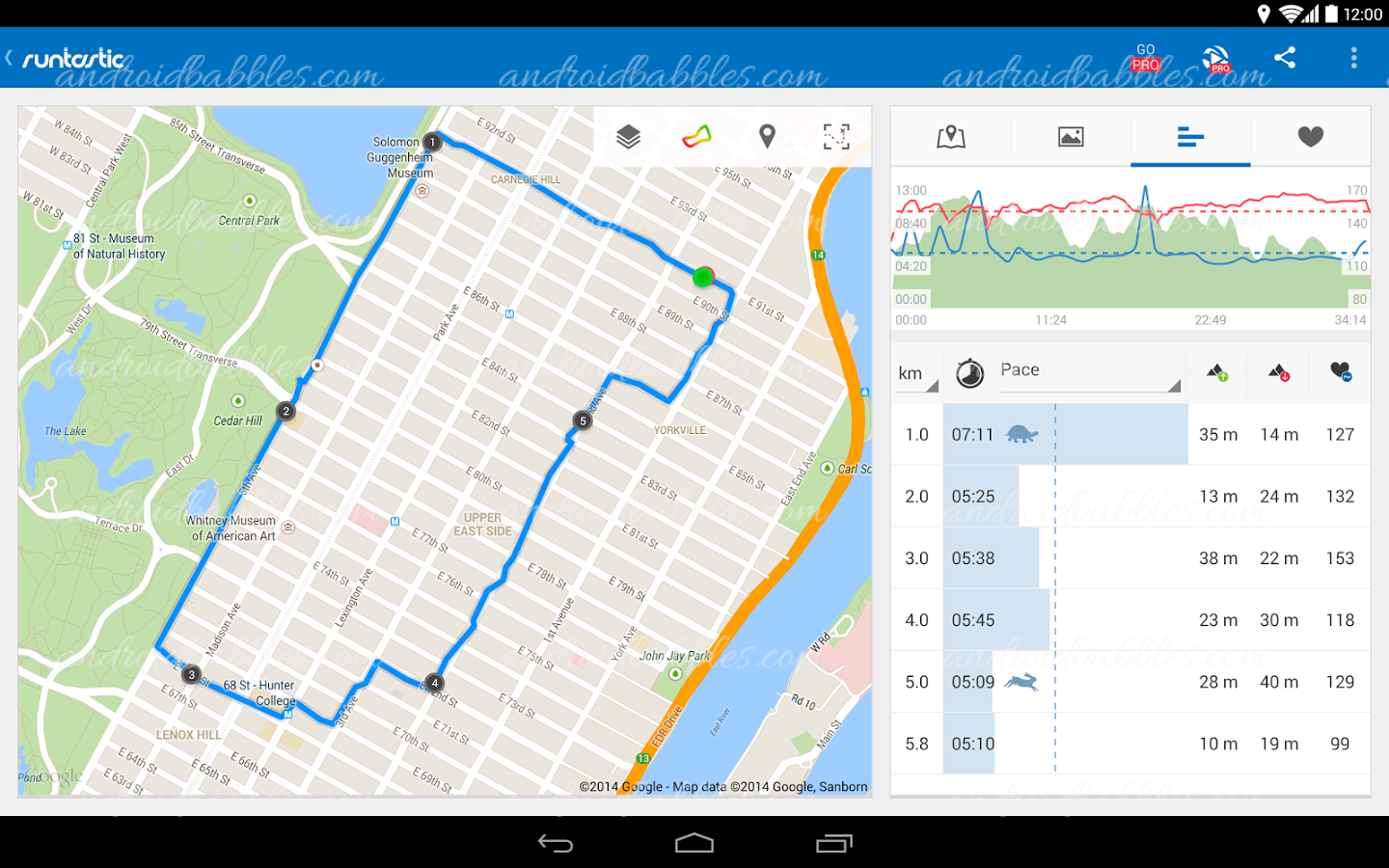 Runtastic-Free-Android-App