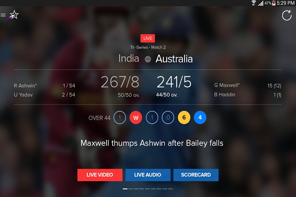 Star Sports Cricket World Cup App Download Free