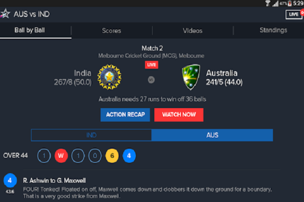 Star Sports cricket world cup apk 4.1 Download