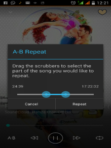 Madbee-Music-Player-app-Repeat loop