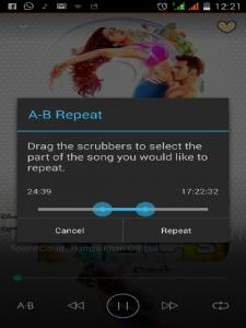 Madbee-Music-Player-app-Repeat loop