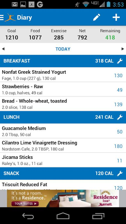 Calorie Counter – MyFitnessPal Android Free Download