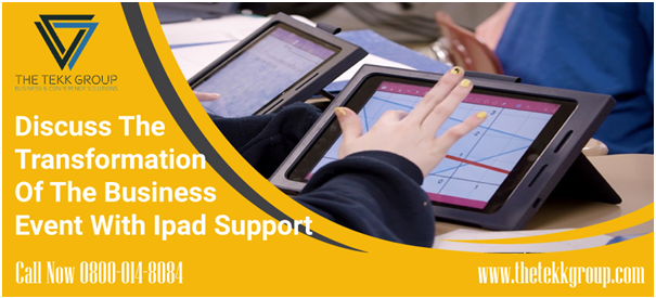 business event with ipad support