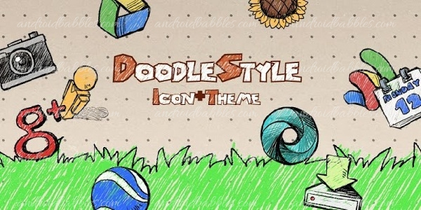 Doodle-Style-Theme-Free-Android-App